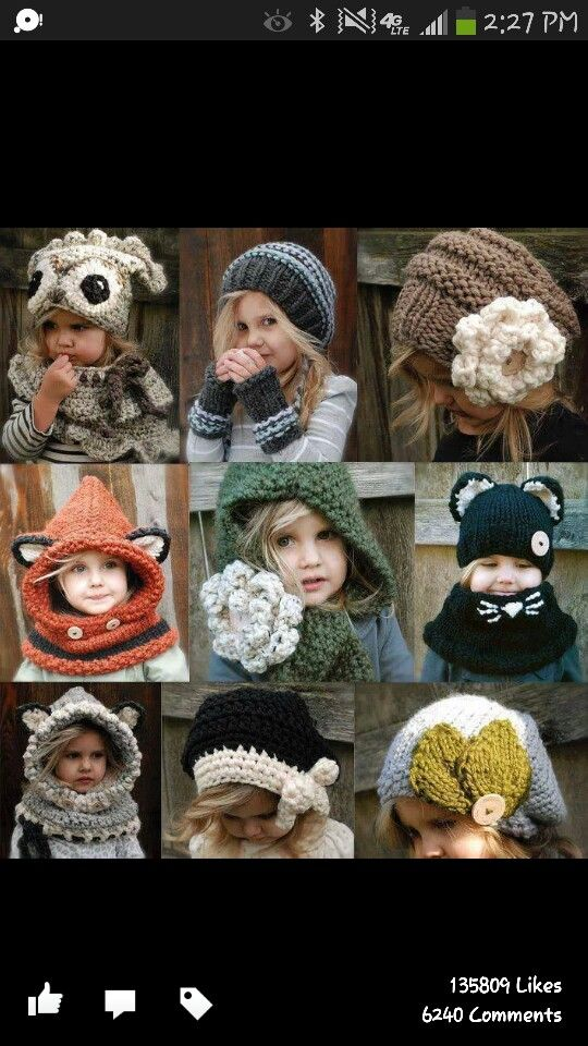 Knitted stuff for kids