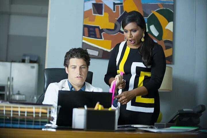 Peter and Mindy. He's such a perv. Lol