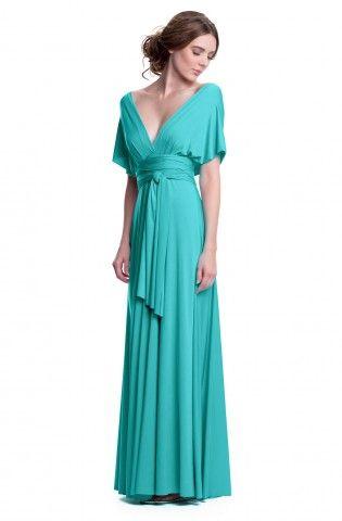 Sakura Robin's Egg Blue Maxi Convertible Dress - Maxi Dress - Convertible Dresses - Shop