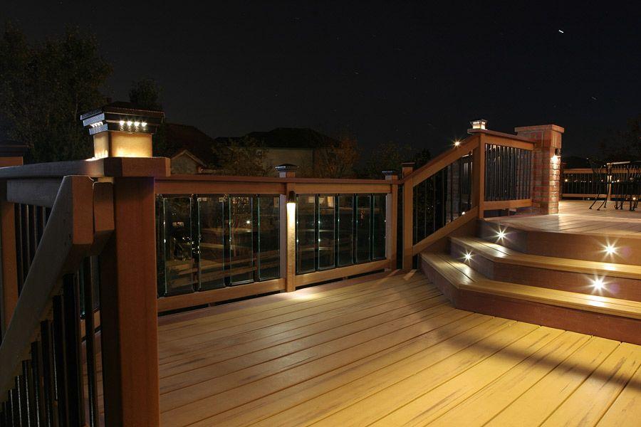Decking Inspiration Dekor Lighting Made In The Usa Deck Stair Lights Deck Lighting Outdoor Deck Lighting