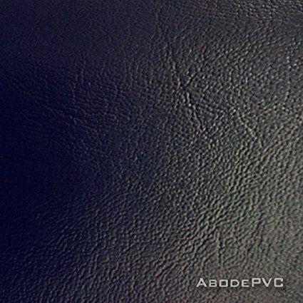 Premium Black Faux Leather Leatherette Material Heavy Feel Pvc