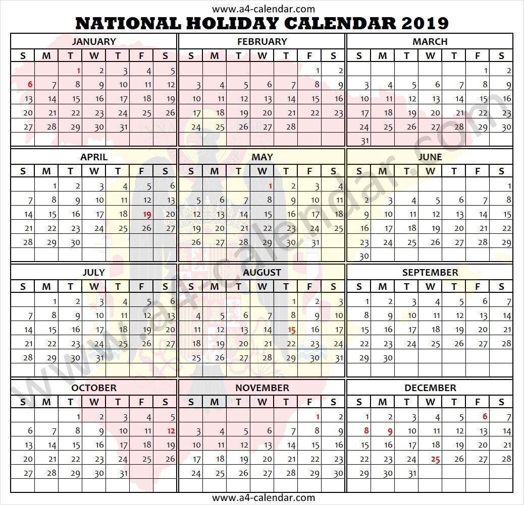 2019 Spain Holidays Holiday Calendar