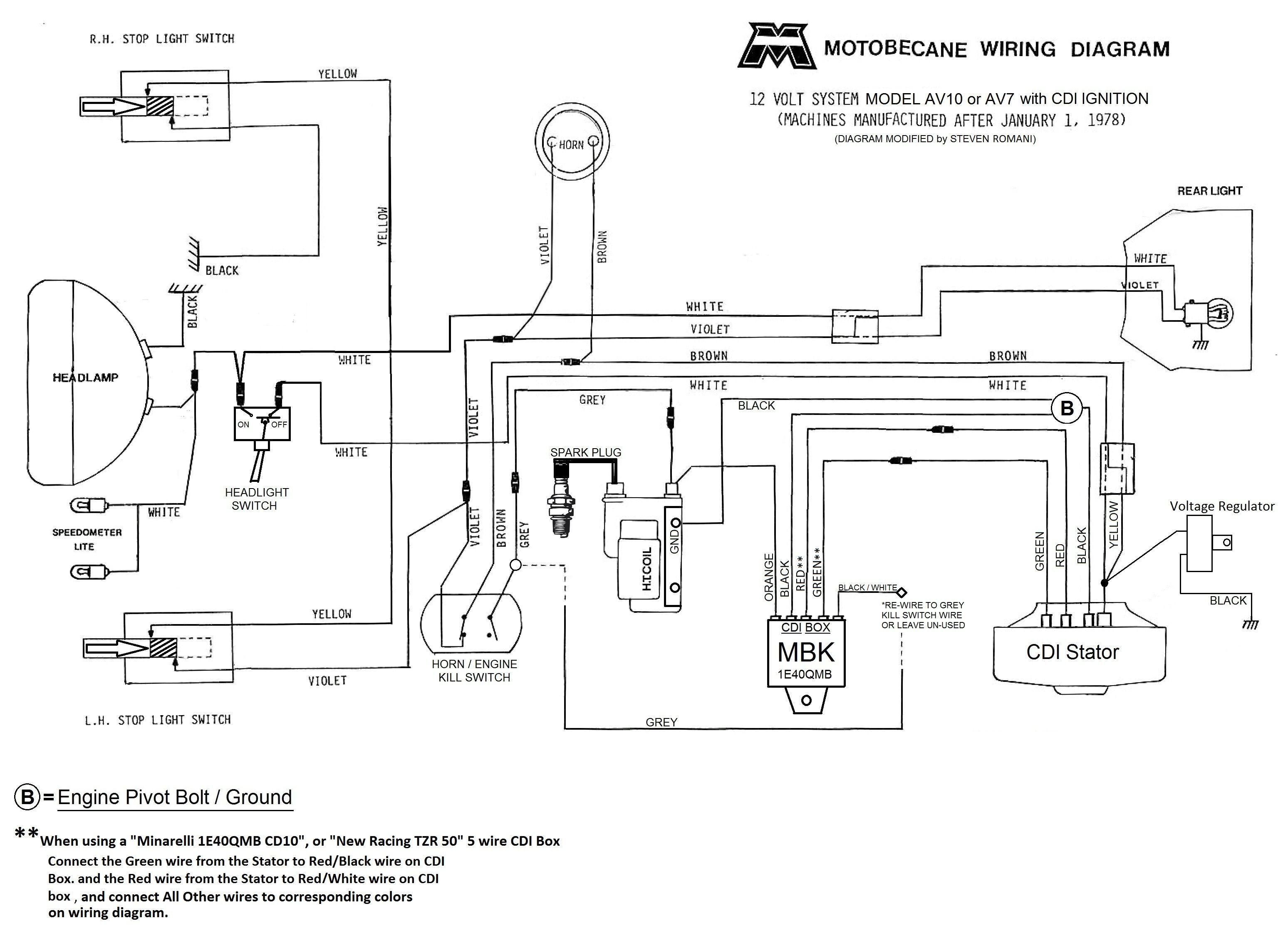 Motobecane 12v Cdi Wiring Diagram Av10 And Av7 Jpg Diagram Club Car Golf Cart Wire