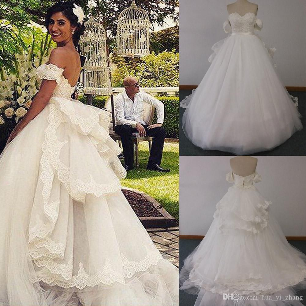 ball gown wedding dresses with detachable off shoulder sleeves