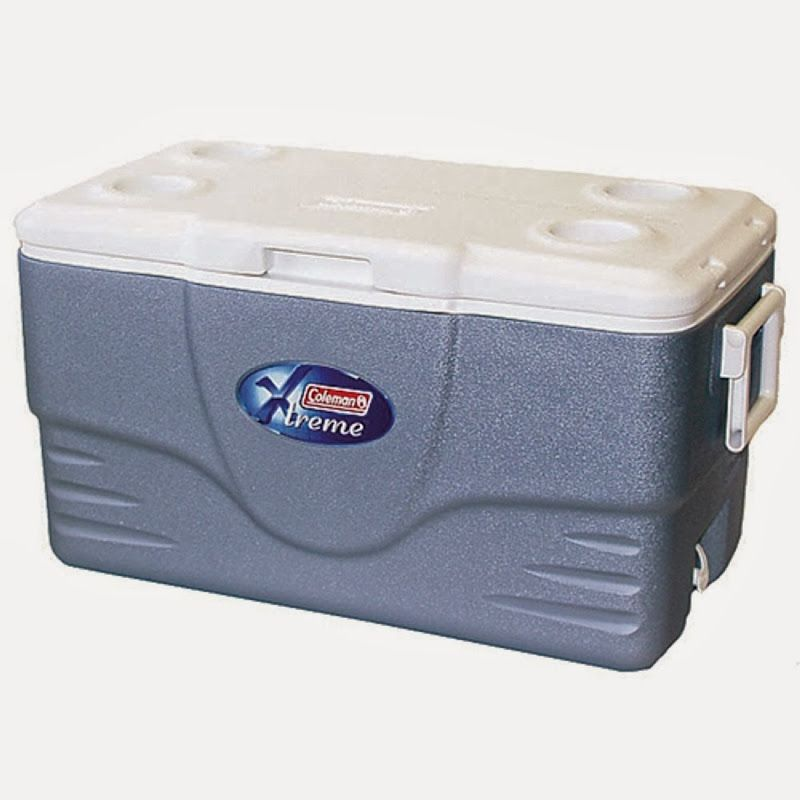Coleman Xtreme 5 Day Cooler 36 Quart This Ice Chest Has The Same Dimensions As The Coleman 45 Quart Ice Chest But The Interior Holds Cool Box Coleman Cooler