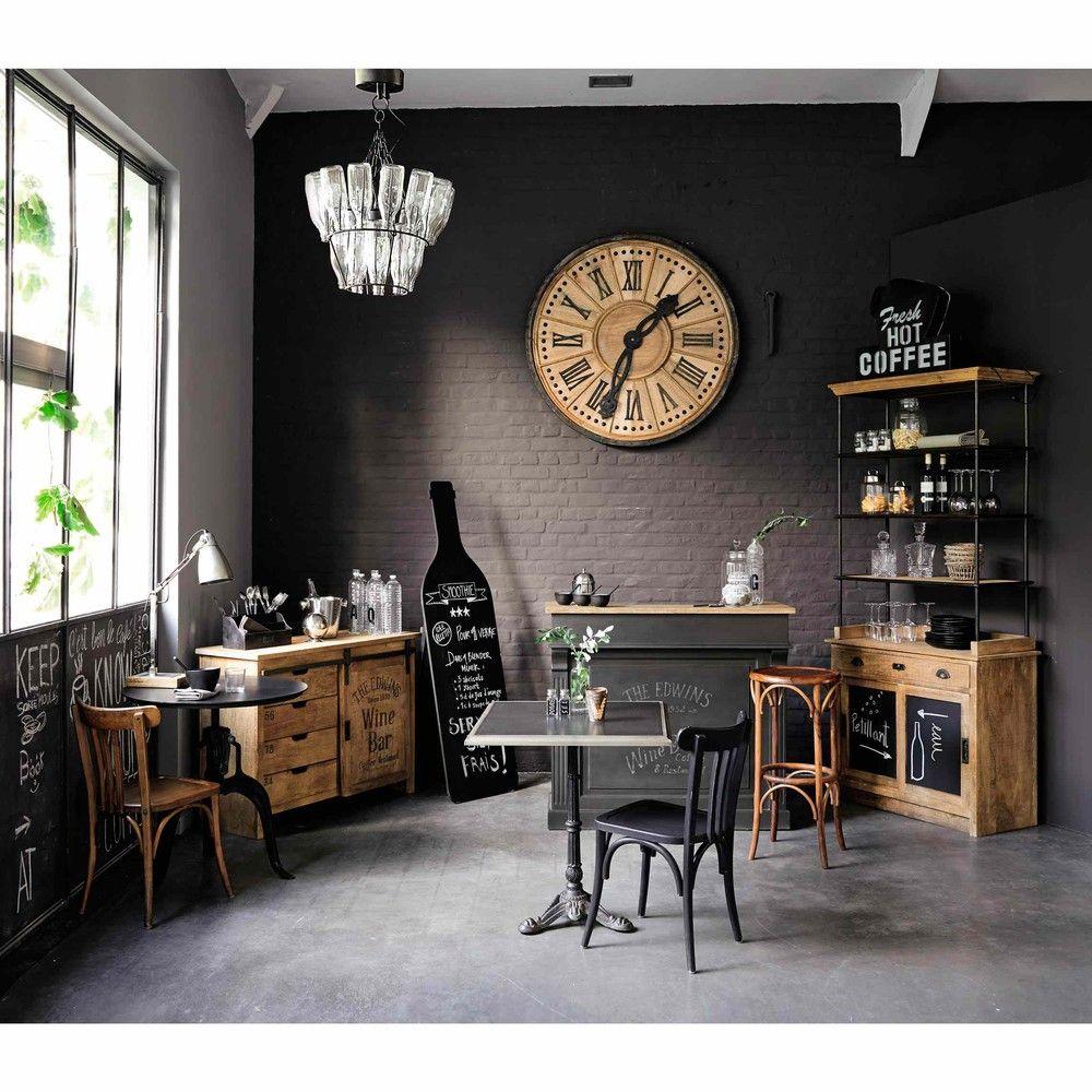 Meuble De Bar En Manguier Germain Decoracion De Bares Decoracion De Interiores Muebles De Comedor