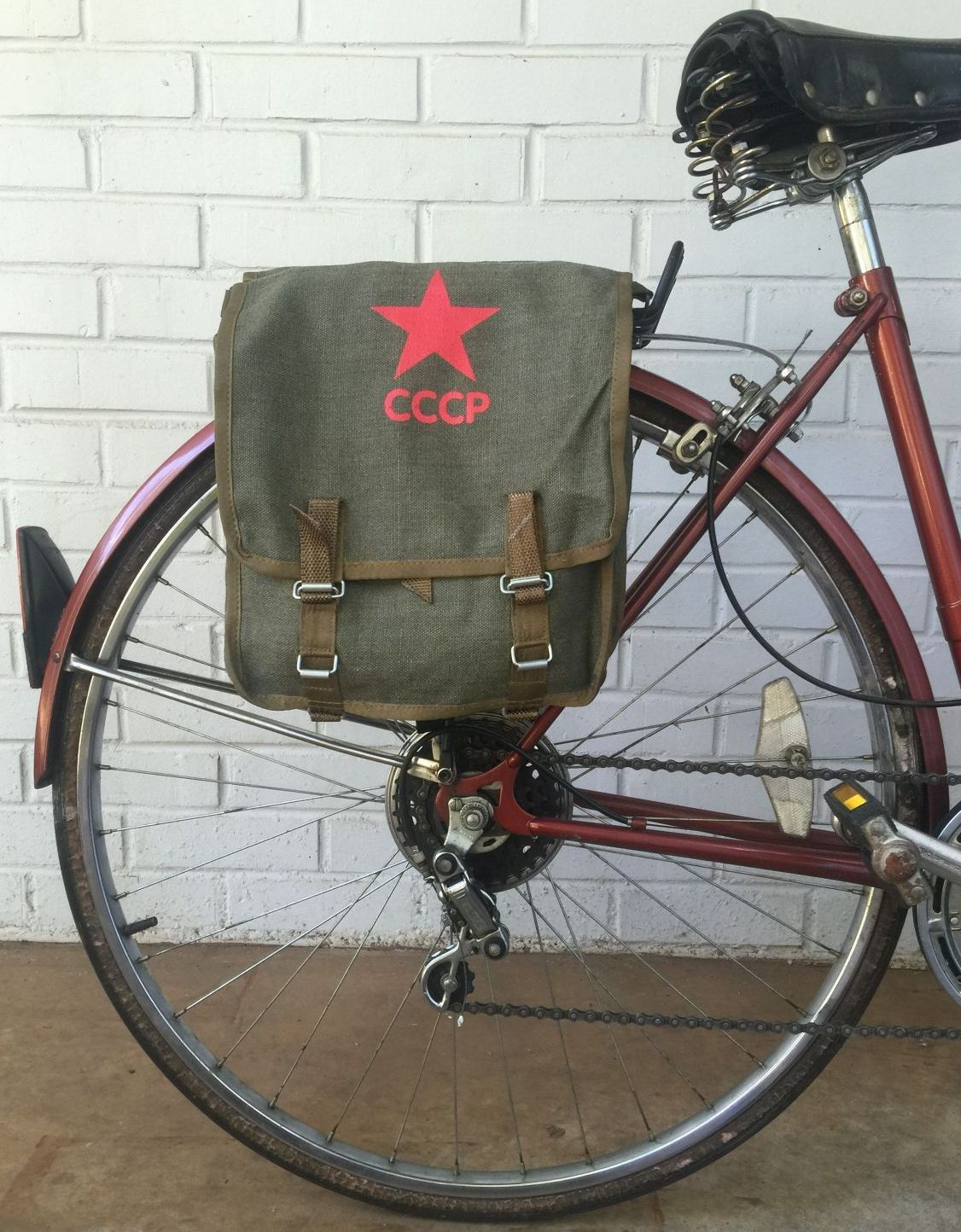 Panniers Military Surplus And Surplus Style Bags And Backpacks Hand Crafted Into Bicycle And Motorcycle Panniers Saddle Bags Re Purposed Upcycled Vintage