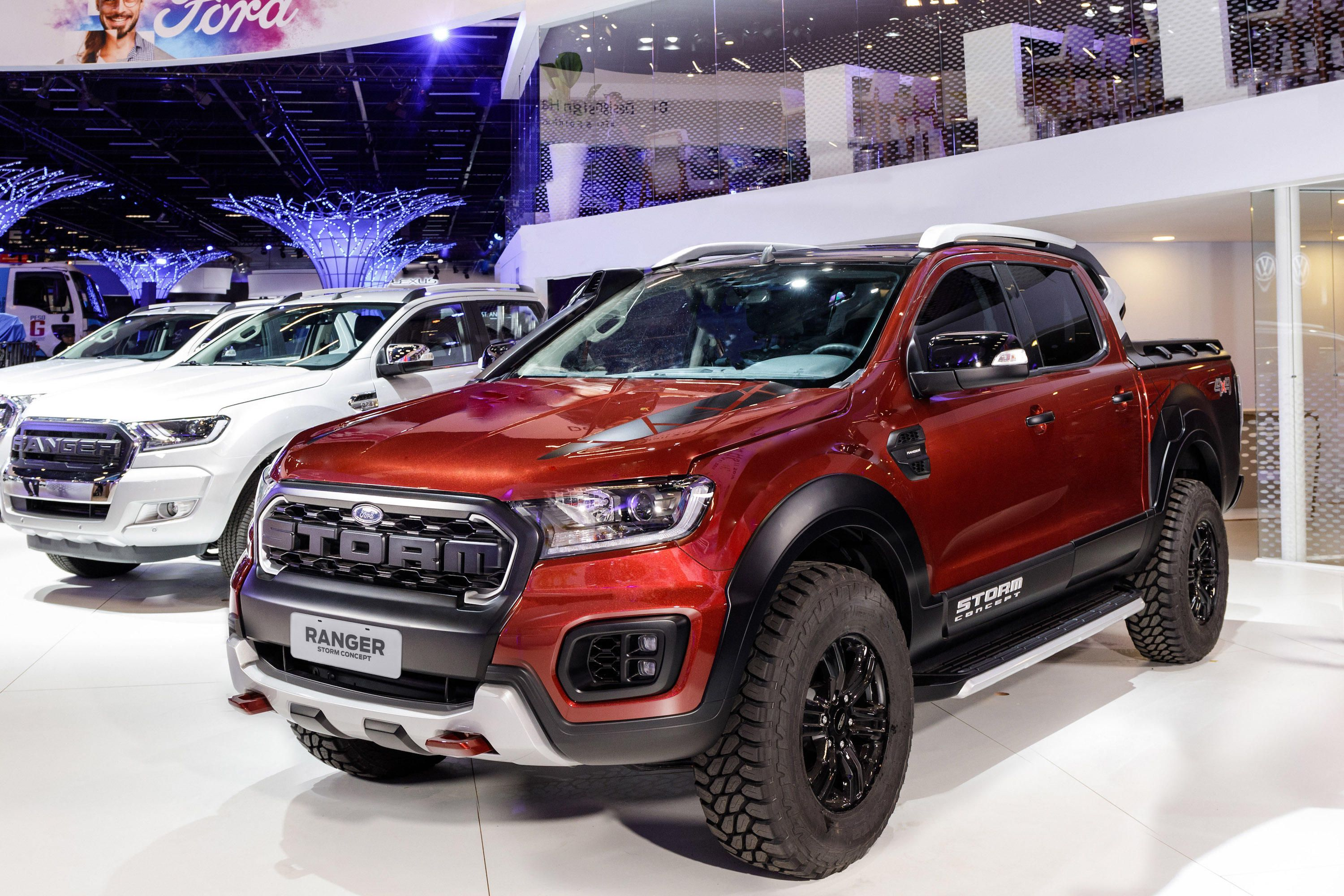 Ford S Ranger Storm Concept Is A Cheaper Raptor Lookalike That S