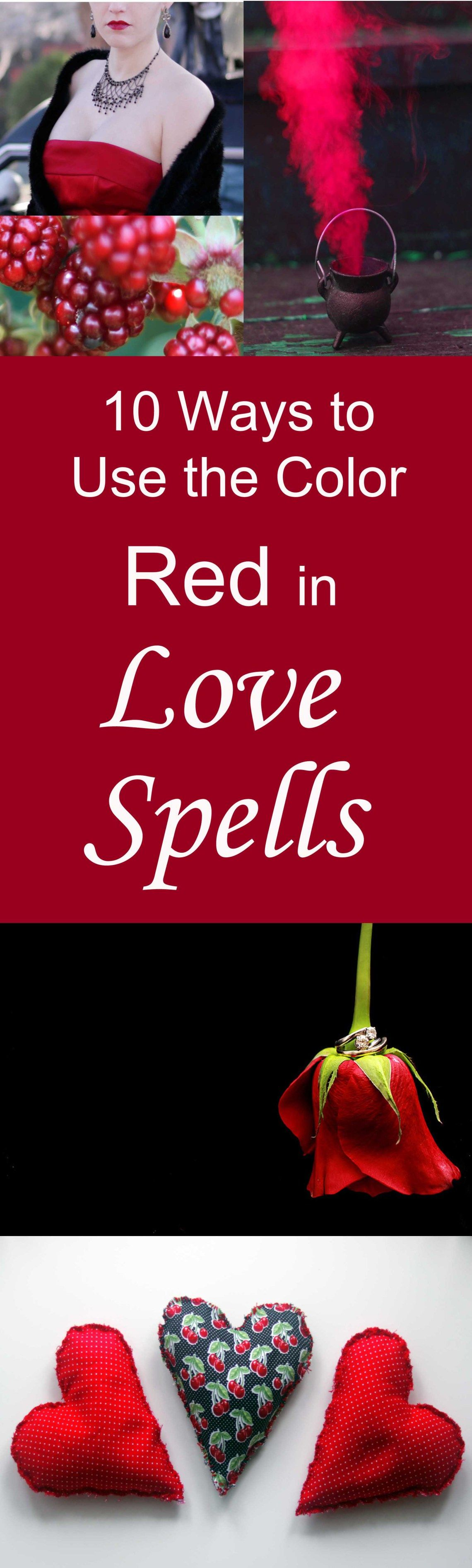 10 Ways to Use the Color Red in Love Spells & Attraction