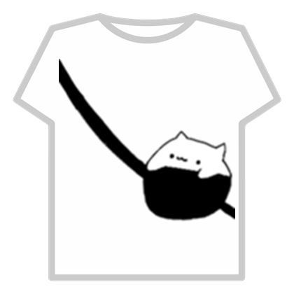 Customize Your Avatar With The Bongo Cat In A Bag And Millions Of Other Items Mix Match This T Shirt With Othe Roblox Shirt Aesthetic T Shirts Create Shirts