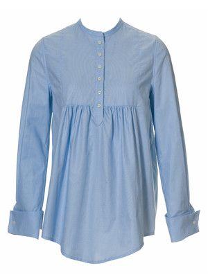 Bluse 120 burda 10/2010 - nochmal aus mehreren alten Hemden? und ...