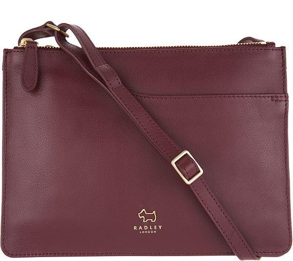 RADLEY London Pocket Leather Medium Crossbody Handbag - Page 1 — QVC ... 272159c10a0f0