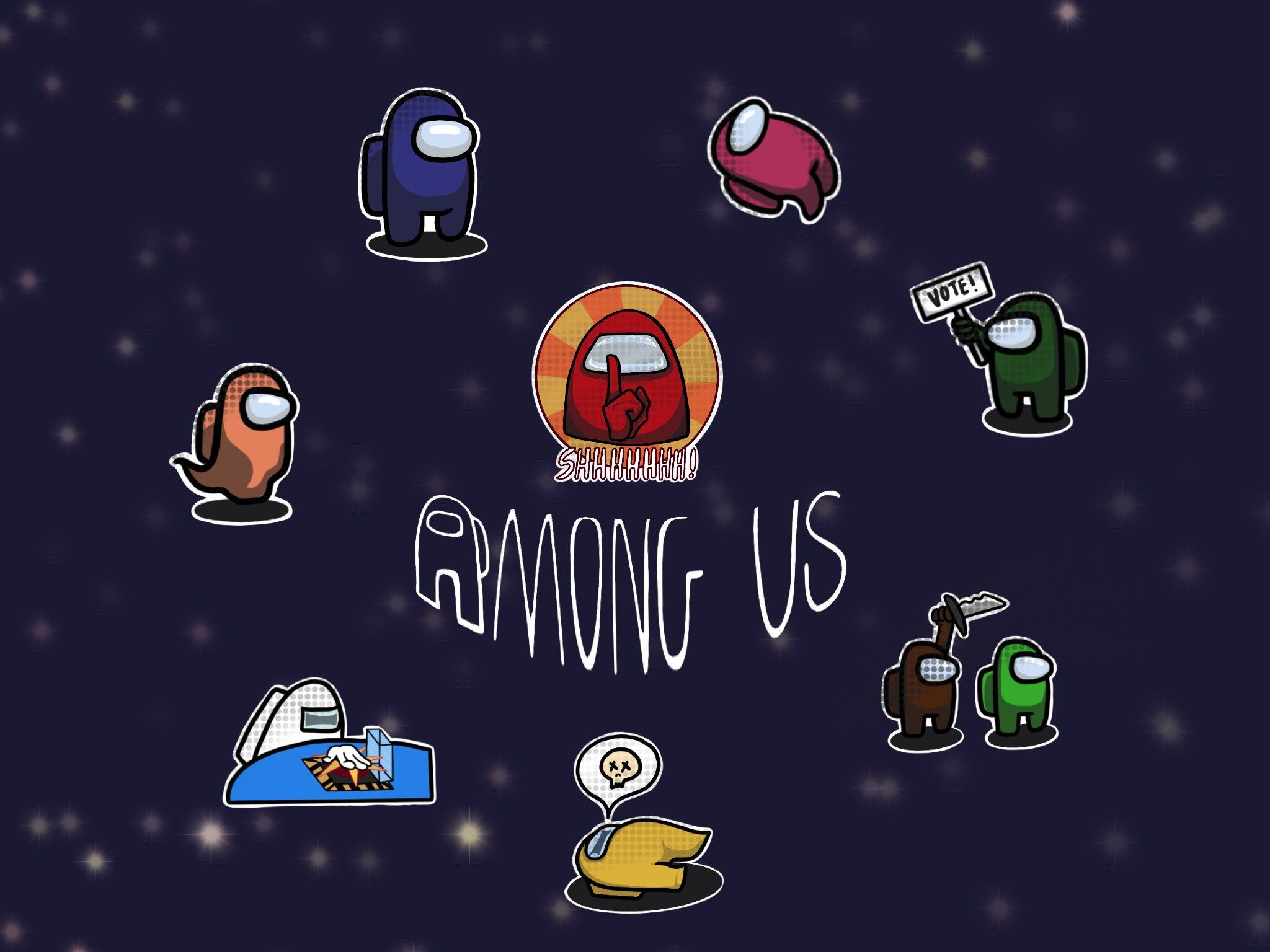 Among Us Stickers Self Customizable Cartoon Goodnotes Stickers By Huawenploy99 On Etsy Apple Wallpaper Iphone Apple Wallpaper Girls Cartoon Art