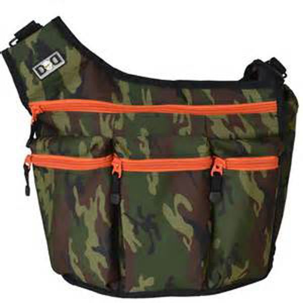 Diaper Dude Men's Green Camo Messengers Bag I Diaper Baby Bag NWT #DiaperDude