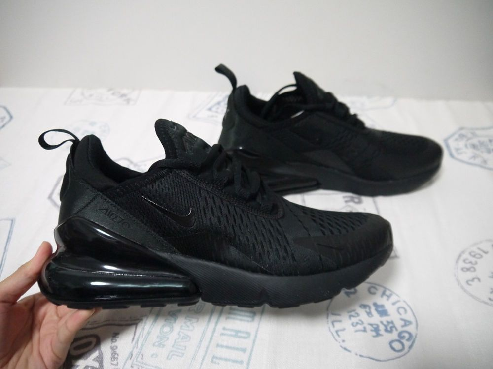 separation shoes 22ff4 225e4 Rare Size 8 Running Nike Air Max 270 Triple Black Men s Shoes  Style AH8050-005  fashion  clothing  shoes  accessories  mensshoes   athleticshoes (ebay link)