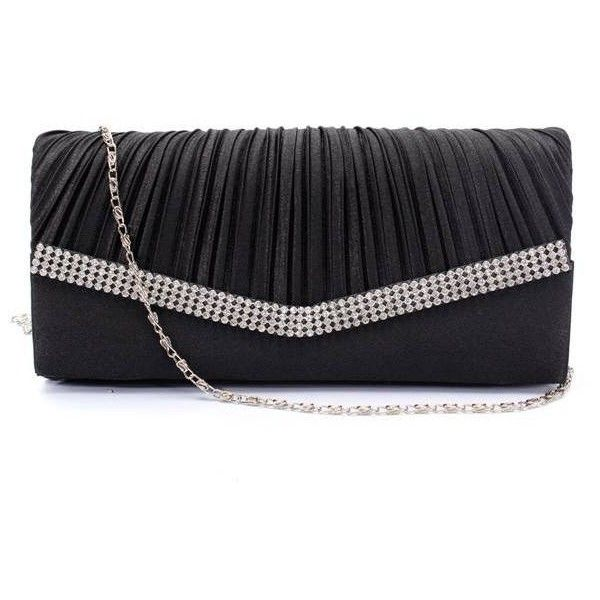 Women Evening Bridal Diamante Clutch Bag ($8.44) ❤ liked on Polyvore featuring bags, handbags, clutches, special occasion purses, bridal handbag, evening handbags, rose handbag and rose purse