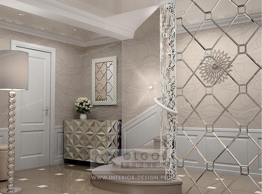 Art deco house hall interior design pro en hallway interior