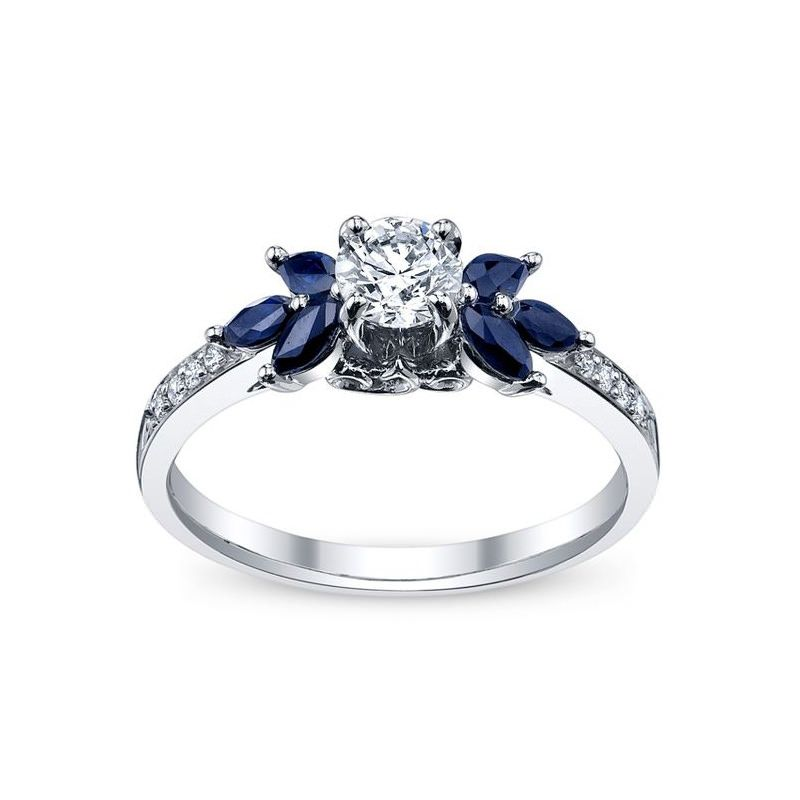 ced7dadabab9a 30 ideias de anéis de noivado completamente deslumbrantes   Anéis de ...