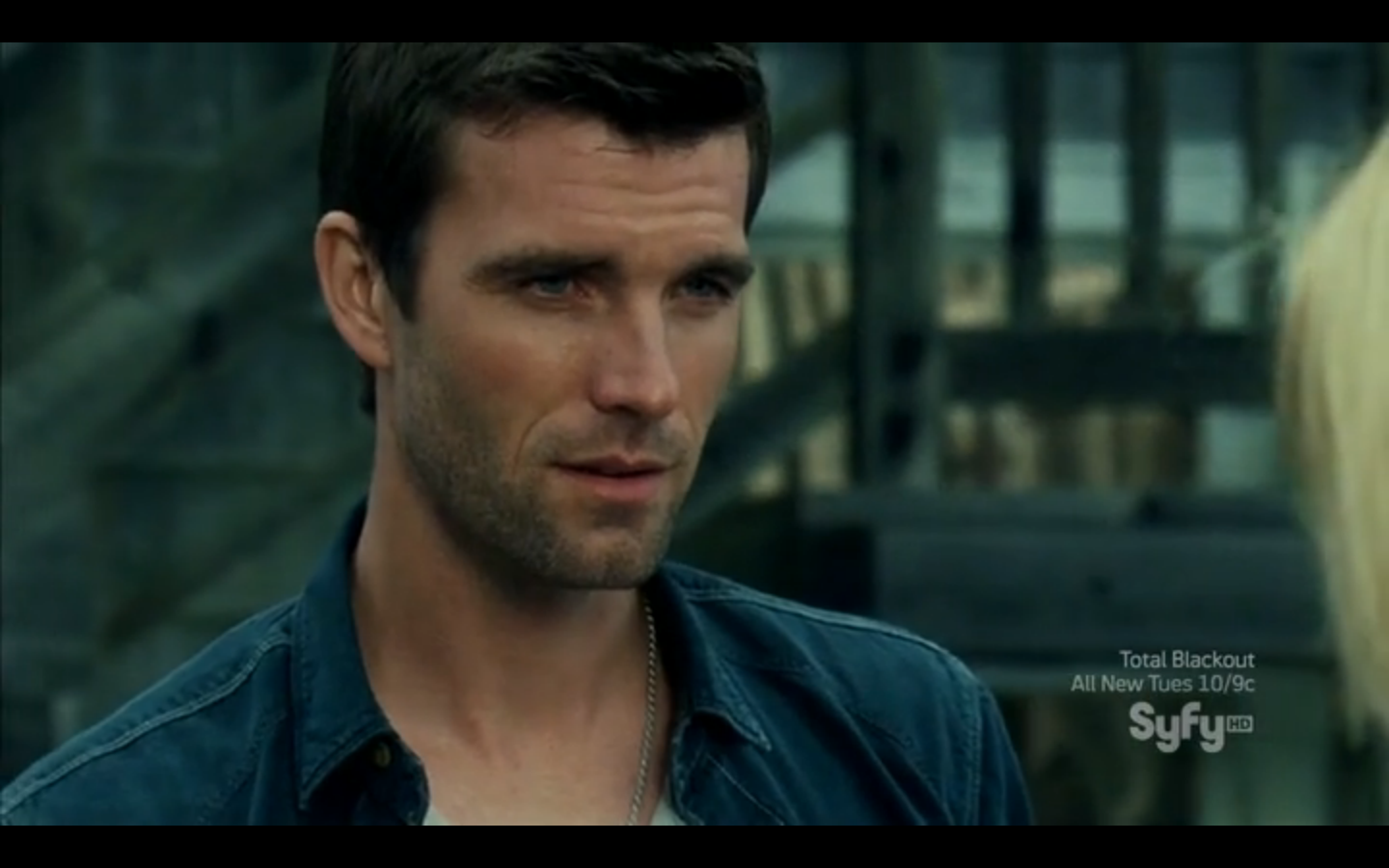 Nathan Wuornos (Lucas Bryant) from Haven. Beautiful, beautiful man.