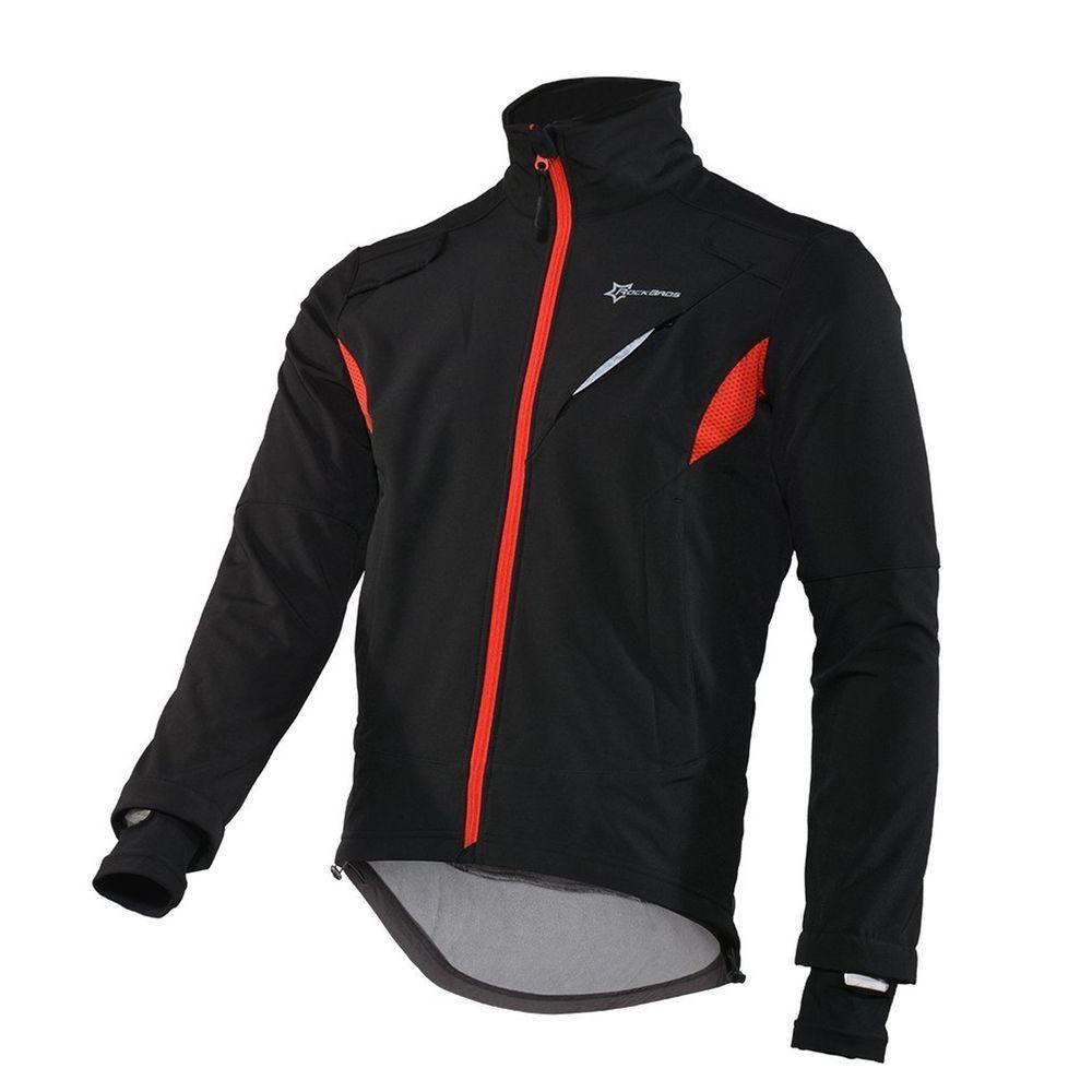 Santic Cycling Jersey Mens Long Sleeve Jacket Fleece Thermal Windproof Winter Bike Bicycle Coat Gabriel