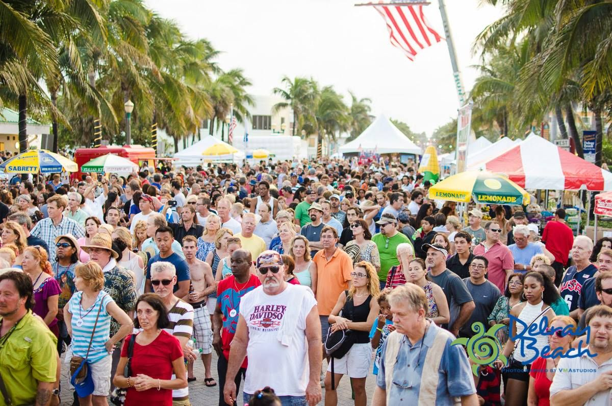 Monthly Annual Calendar Delray Beach Upcoming Events Event