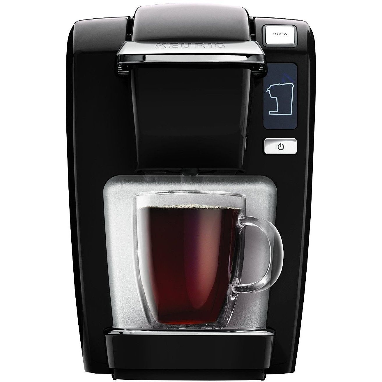 Keurig K15 Coffee Maker Black (New Packaging) Refurbished