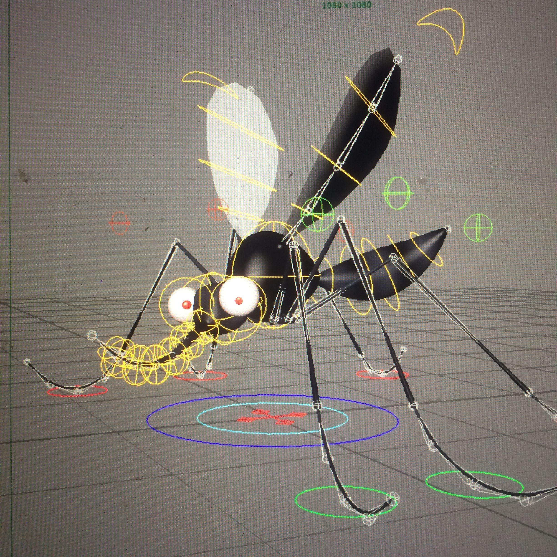 mosquito rig v1 Plantas, Cartel