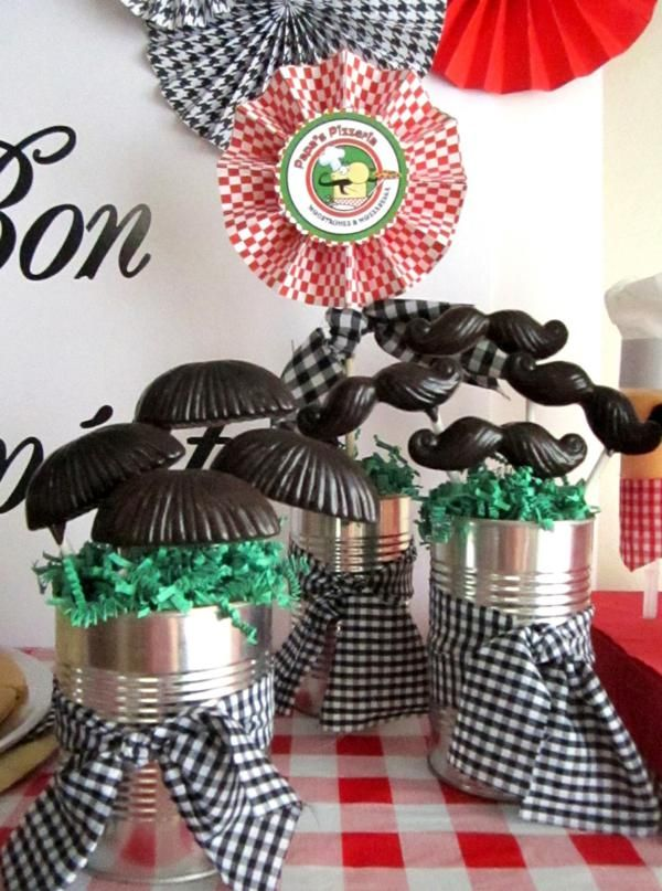Mustache Party...this site has amazing party theme ideas.  Almost anything you can think of.