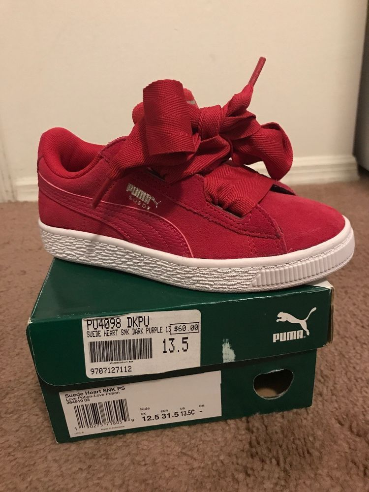 the latest 5fbb9 5f4ce Pumas- Suede heart SNK PS #fashion #clothing #shoes ...