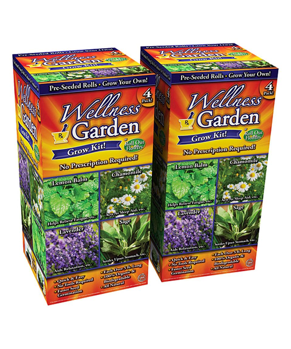 Take a look at this Herb Wellness Roll-Out Plant Seed Garden Roll - Set of Eight today!