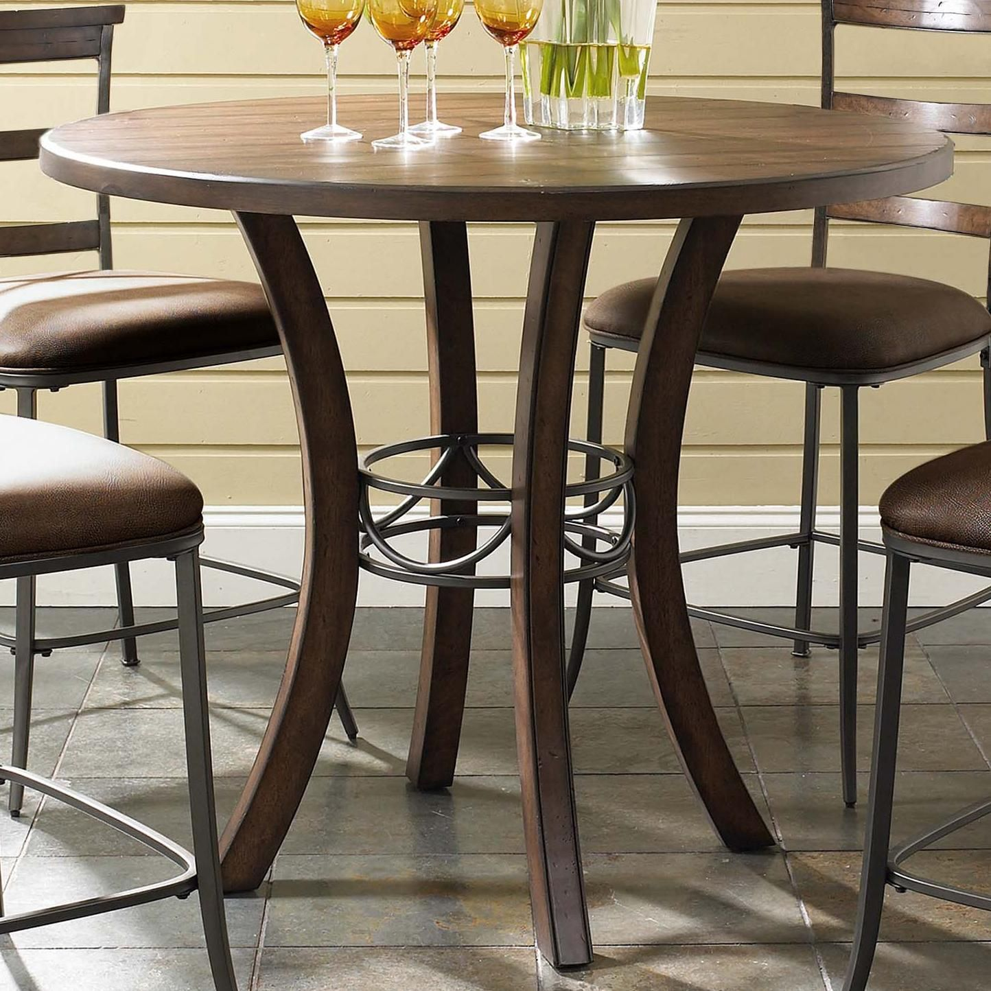 Cameron Round Counter Height Table by Hillsdale   Counter ...