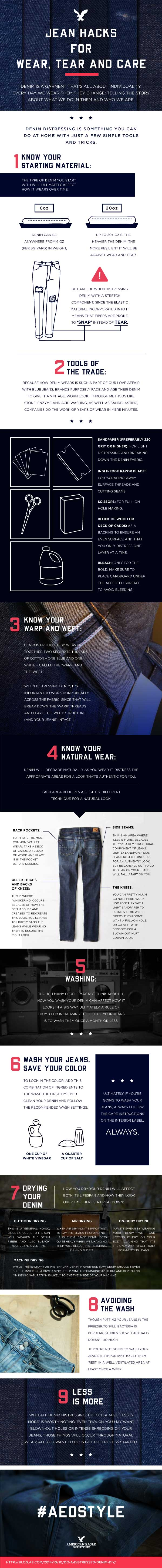 How To Turn Your Old Jeans Into Shorts?