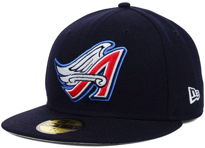 san francisco d9e8d 91a20 New Era Los Angeles Angels of Anaheim Mlb Cooperstown 59FIFTY Cap