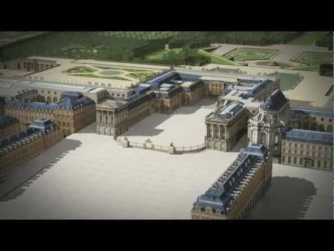 Versailles 3D, with Google Places Pinterest Versailles, Palace