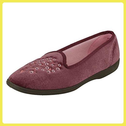 Spot On , Damen Durchgängies Plateau Sandalen mit Keilabsatz , mehrfarbig - braun - Größe: 37