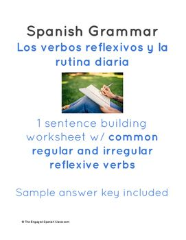 Savings Worksheet Spanish Reflexive Verbs Sentence Building Worksheet Verbos  Multiplication Decimals Worksheet Word with Reading For First Grade Worksheets Pdf Spanish Reflexive Verbs Sentence Building Worksheet Verbos Reflexivos Maths Addition Worksheets Pdf