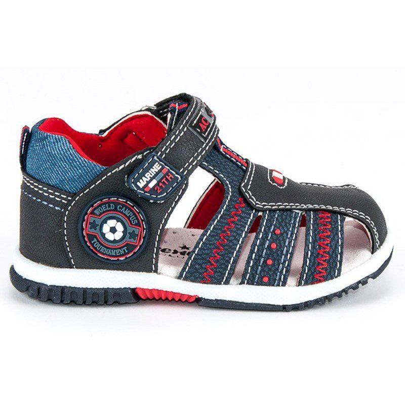 Sandalki Dzieciece Dla Dzieci Americanclub Niebieskie Sandaly Na Lato American American Club Shoes Mens Shoes High Top Sneakers