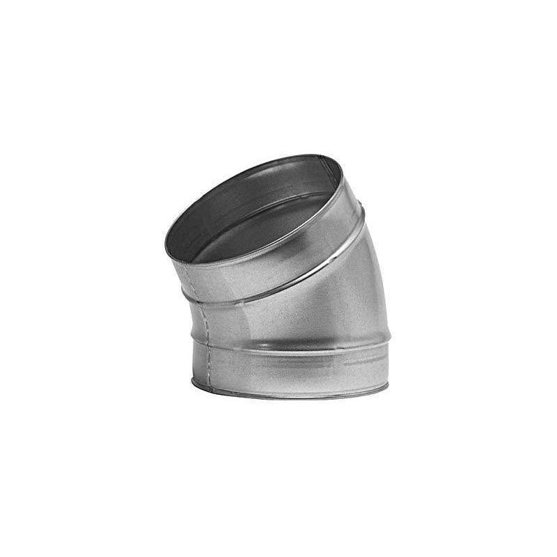 Coude 30/° Galva D125 ECONONAME COUD30GALD125