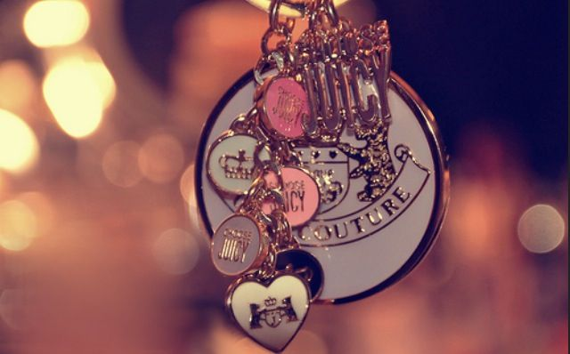 girly #keychains #cute | keychains (: | Juicy couture