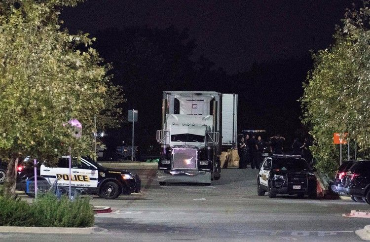 9 dead after police find a truck at a Walmart — a