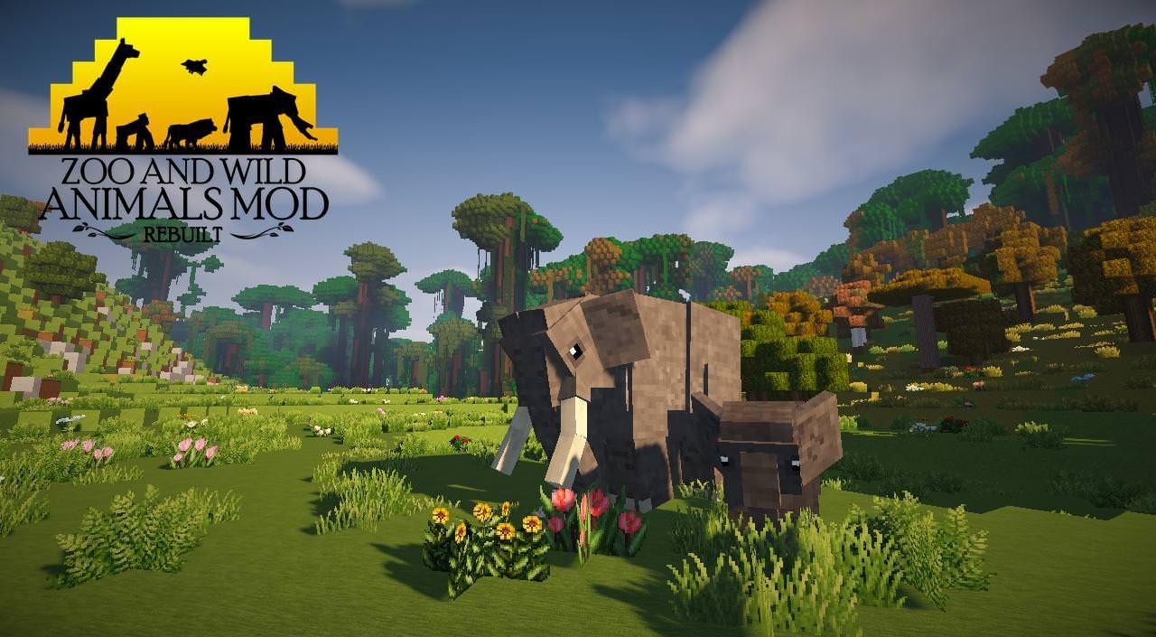 Zoo And Wild Animals Mod Rebuilt Wip Mods Minecraft Mods