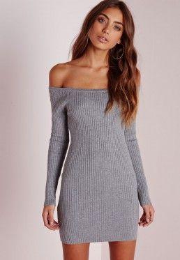 f0106cf7ee70 Off the Shoulder Dresses & Bardot Dress - Missguided | Debi's Wish ...