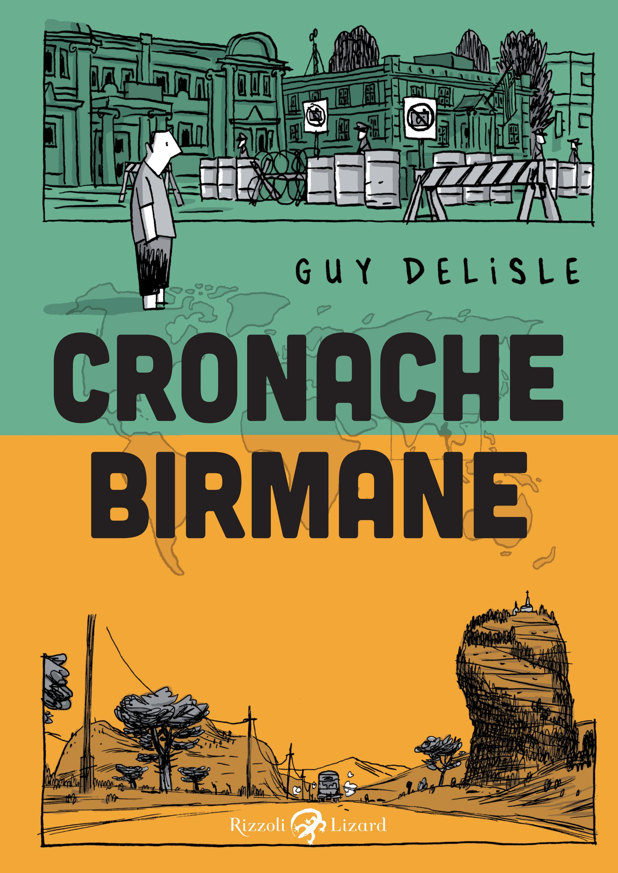 Cronache birmane @Guy Delisle