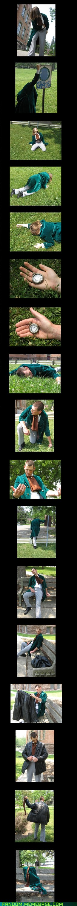 """Cosplay of the """"missing"""" regeneration"""