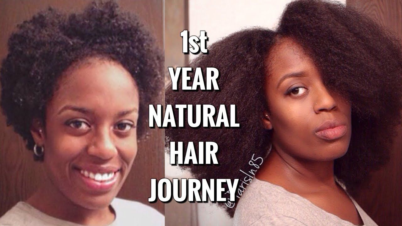 Hair Supplement} and First Year of Hair Growth w/ Hairstyles | Natural Hair - Parisin85 - YouTube