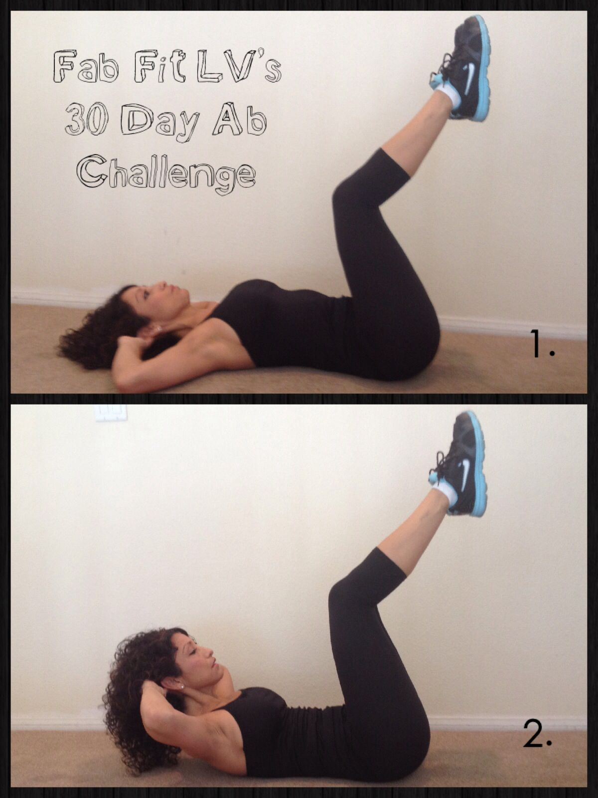 Marvelous Slow Ab Crunch: Legs Up So Back Is Flat On The Floor. Lift You