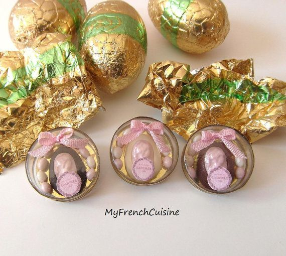 White Easter egg Came Marquise Laduree by MyFrenchCuisine