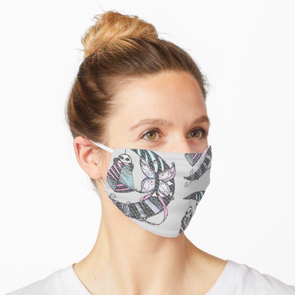 Lunar Magic Mask By Poesunderstudy In 2020 Mask Skull Art Floral Pattern Design