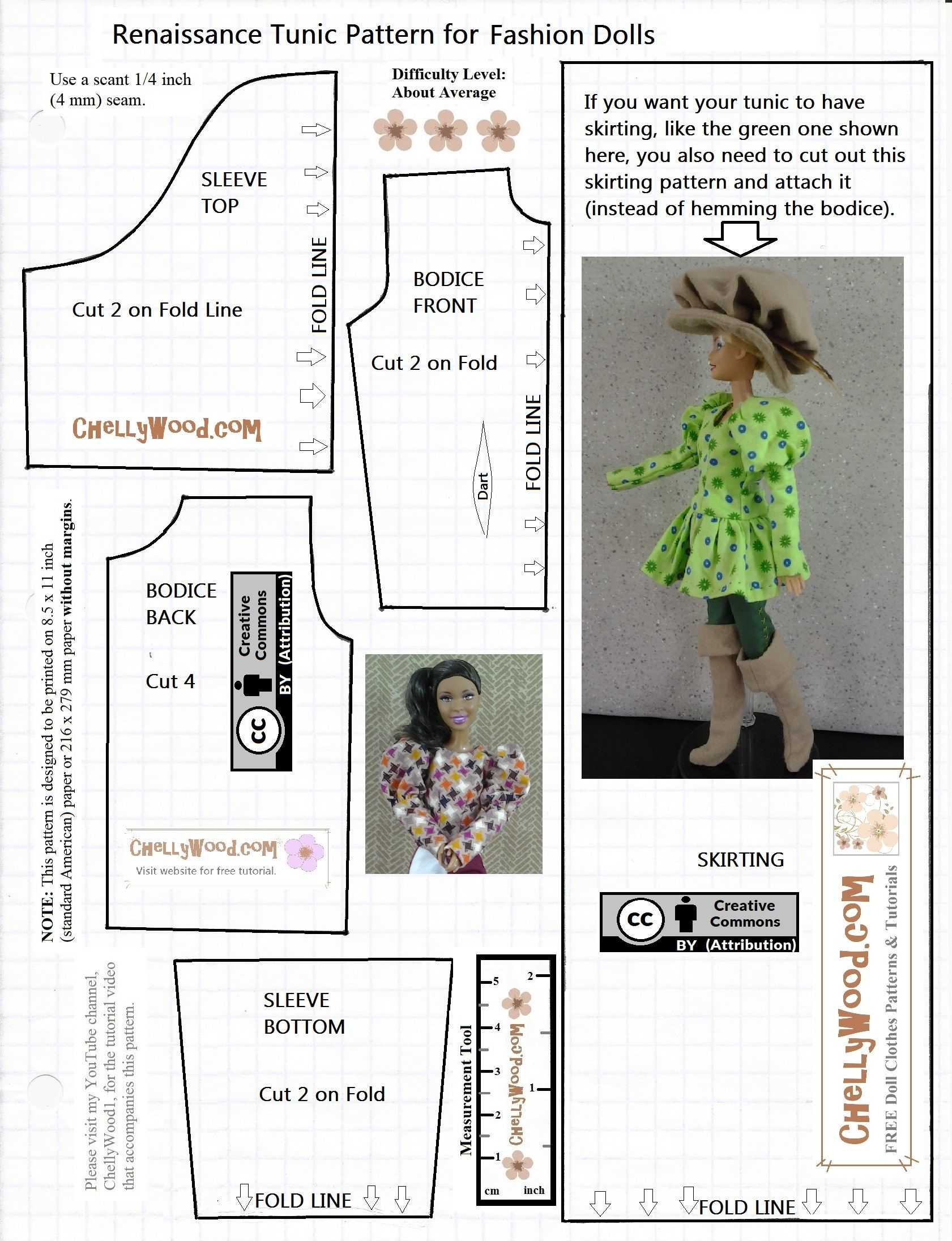 Visit chellywood for free printable sewing patterns for dolls visit chellywood for free printable sewing patterns for dolls of many shapes and sizes this pattern fits barbie and curvy barbie dolls jeuxipadfo Gallery