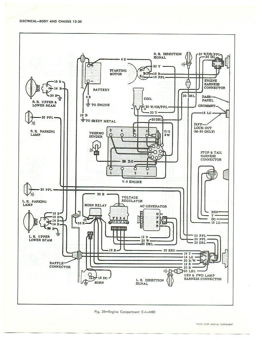 1947 chevy truck wiring diagram [ 864 x 1136 Pixel ]